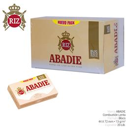 ABADIE BLOC 500 MEDIUM 20 Lib.