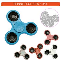 SPINNER COLORES 5 Uds.