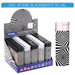 ATOMIC ENC. BLACK&WHITE 50 Uds. 36.07396