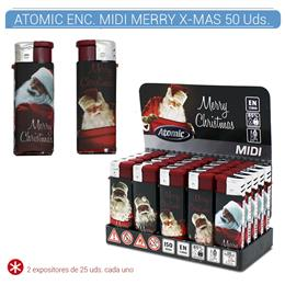 ATOMIC ENC. MIDI MERRY CHRISTMAS 50 Uds. 36.00919