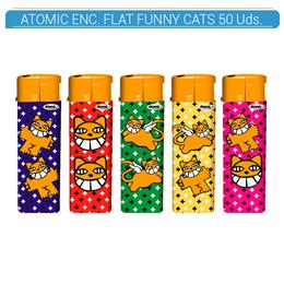 ATOMIC ENC. FLAT FUNNY CATS 50 Uds. 36.07392