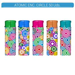 ATOMIC ENC. FLAT CIRCLE 50 Uds. 36.07407