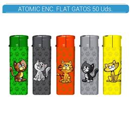 ATOMIC ENC. FLAT GATOS 50 Uds. 36.07415