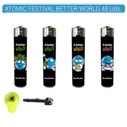 ATOMIC ENC. FESTIVAL BETTER WORLD 48 Uds. 39.35242