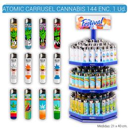 ATOMIC FESTIVAL CARRUSEL CANNABIS 144 Uds. 39.35801