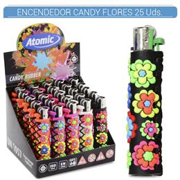 ATOMIC ENC. CANDY RUBBER FLORES 25 Uds. 39.08002