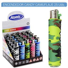 ATOMIC ENC. CANDY RUBBER CAMUFLAJE 25 Uds. 39.08001