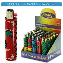ATOMIC ENC. CANDY RUBBER HOJA MARIA 25 Uds. 39.08004