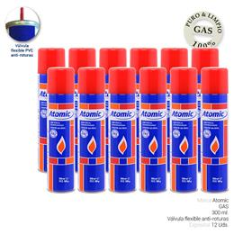 ATOMIC GAS VALVULA PVC 300 ml. 12 Uds. 01.42014 / 01.42015