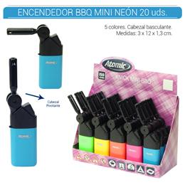 ATOMIC ENC. BBQ MINI NEON 20 Uds. 36.92502