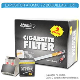 ATOMIC BOQUILLA REGULAR EXPOSITOR 72 Uds. 01.61000