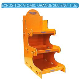 EXPOSITOR ATOMIC TORRE ORANGE 200 ENC. 1 Ud. 36.99800