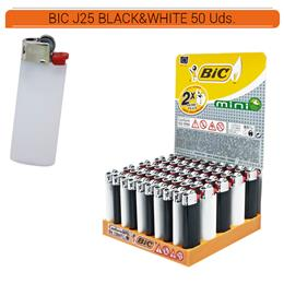 BIC J25 MINI BLACK&WHITE 50 Uds.
