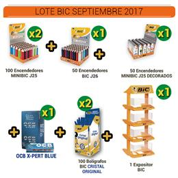 BIC LOTE SEPT/OCT 2017 1 Ud.