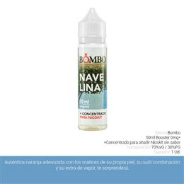 BOMBO E-LIQUID NAVELINA BOOSTER 00 mg 50 ml 1 Ud.