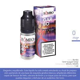 BOMBO E-LIQUID GARBO 00 mg 10 ml 1 Ud.