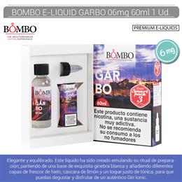 BOMBO E-LIQUID GARBO SMARTPACK 06 mg 60 ml 1 Ud.