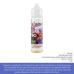 BOMBO E-LIQUID GARBO BOOSTER 00 mg 50 ml 1 Ud.