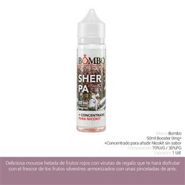 BOMBO E-LIQUID SHERPA BOOSTER 00 mg 50 ml 1 Ud.