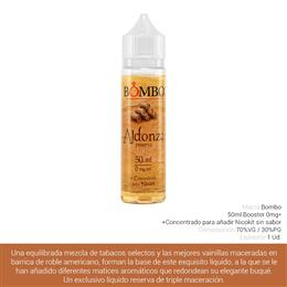 BOMBO E-LIQUID ALDONZA BOOSTER 00 mg 50 ml 1 Ud.