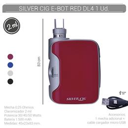SILVER CIG E-BOT RED 1500 mAh/0.25 Ohm DL4 1 Ud. 40678772