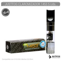 JUSTFOG CLAROMIZADOR 1453 - COMPATIBLE EGO 1,6 ml 5 Ud.