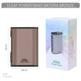 ELEAF BATERIA POWER NANO TC 40W 1100 mAh BRONZE 1 Ud. [312360]