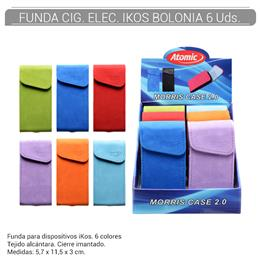 FUNDA ATOMIC CIGARRILLO ELEC. IKOS BOLONIA 6 Uds. 04.40200