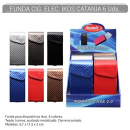 FUNDA ATOMIC CIGARRILLO ELEC. IKOS CATANIA 6 Uds. 04.40201
