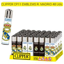 CLIPPER CP11 EMBLEMS REAL MADRID 48 Uds.