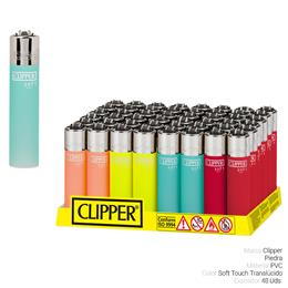 CLIPPER CP11 SOFT TOUCH TRANSLUCIDO 48 Uds.