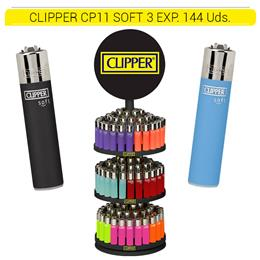 CLIPPER CP11 CARROUSEL 3 SOFT TOUCH 144 Uds.
