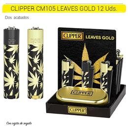 CLIPPER CM105 LEAVES GOLD 12 Uds.