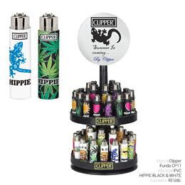 CLIPPER FCL344H FUNDA CP11 HIPPIE BLACK & WHITE 48 Uds.