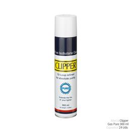 CLIPPER GAS PURE BOTELLA 300ml. 24 Uds.