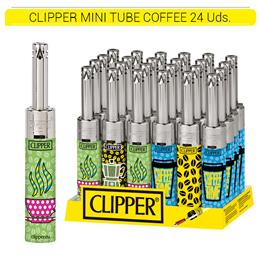 CLIPPER ENC. MTM141 MINI TUBE D24 COFFEE 24 Uds.