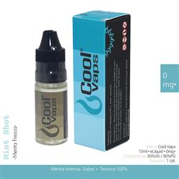 COOL VAPS E-LIQUID MENTA FRESCA 00 mg 10 ml 1 Ud. CV009