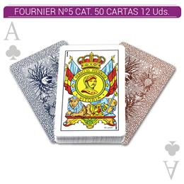 FOURNIER Nº5 CAT. 50 CARTAS 12 Uds. 20995