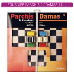 FOURNIER TABLERO GRANDE PARCHIS 4 / DAMAS 1 Ud. 28981