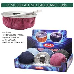 CENICERO ATOMIC BAG JEANS 6 Uds. 02.05100