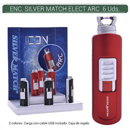 ENCENDEDOR SILVER MATCH SMALL WESTFERRY ELECT ARC 6 Uds. 40674216