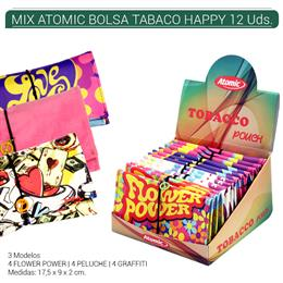 BOLSA ATOMIC TABACO HAPPY MIX 12 Uds. IAG.19026