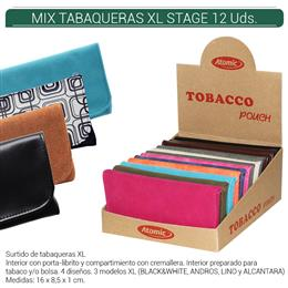 BOLSA ATOMIC TABACO MIX XL STAGE 12 Uds. IAG.19053