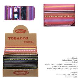 BOLSA ATOMIC TABACO INDIAN PEQUE 6 Uds. 04.06101