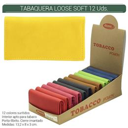 BOLSA ATOMIC TABACO LOOSE SOFT 12 Uds. 04.05711