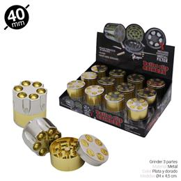 GRINDER 3 Part. ATOMIC CARGADOR 40 mm 12 Uds. 02.12426