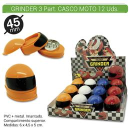 GRINDER 3 Part. CASCO MOTO 12 Uds. 02.12374