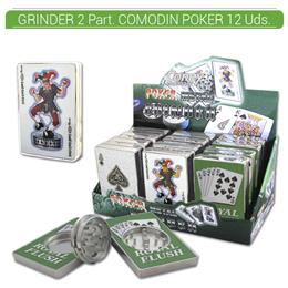 GRINDER 2 Part. CONEY COMODIN POKER 12 Uds. 02.12208