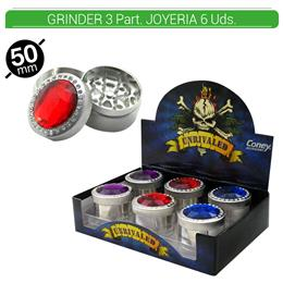 GRINDER 3 Part. CONEY JOYERIA 6 Uds. 02.12328
