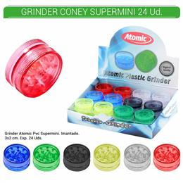 GRINDER 2 Part. ATOMIC SUPERMINI 30 mm. 24 Uds. 02.12406